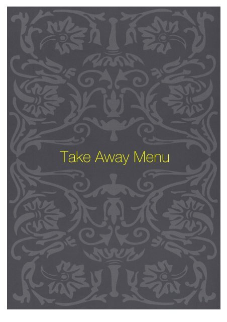 REST-takeaway menu - Sette Bello
