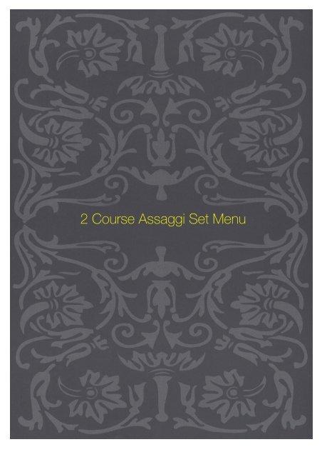 2 Course Assaggi Set Menu - Sette Bello