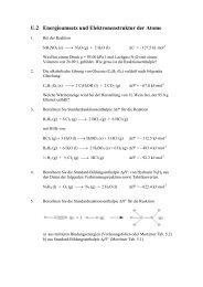 U.2 Energieumsatz und Elektronenstruktur der Atome