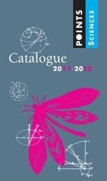 Catalogue Points Sciences 2011-2012-crg_Catalogue Points ... - Seuil