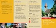 erhalten Sie Informationen rund um die Bürgerstiftung - Seukendorf