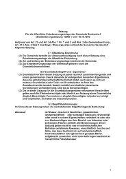 1. Entwässerungssatzung (EWS) - Seukendorf