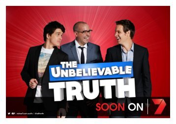 The Unbelievable Truth coming soon - Seven West Media