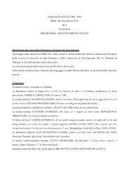 Bulletta - IIS Severi-Correnti