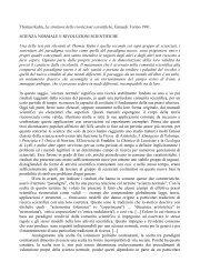Th. Kuhn / Paradigma