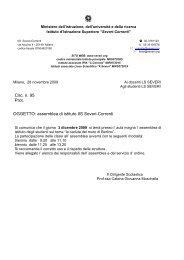 Circ. n. 95 Prot. OGGETTO: assemblea di istituto IIS Severi-Correnti