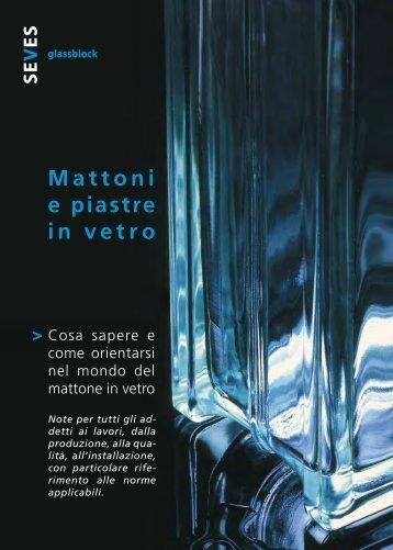 Mattoni e piastre in vetro - Seves glassblock