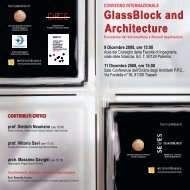 GlassBlock and Architecture Architecture ... - Seves glassblock