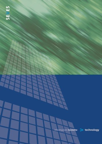 Guida tecnica Technology - Seves glassblock