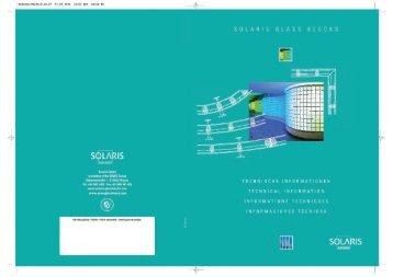 Información técnica - Seves glassblock
