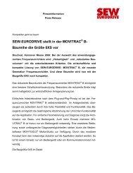 Artikel als PDF - SEW Eurodrive