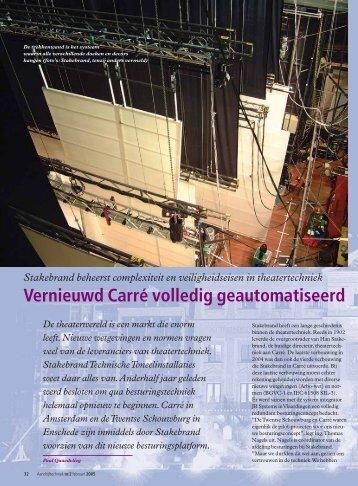 Vernieuwd Carré volledig geautomatiseerd - SEW Eurodrive