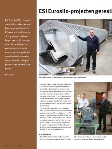 ESI Eurosilo-projecten gerealiseerd met Breman ... - SEW Eurodrive