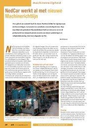 NedCar werkt al met nieuwe Machinerichtlijn - SEW Eurodrive
