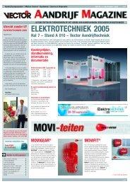 ELEKTROTECHNIEK 2005 - SEW Eurodrive