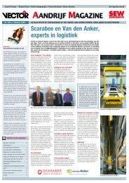 Scarabee en Van den Anker, experts in logistiek - SEW Eurodrive