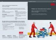 Prijzen Remanufacturing - SEW Eurodrive