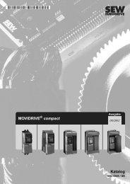 MOVIDRIVE compact Katalog - SEW Eurodrive