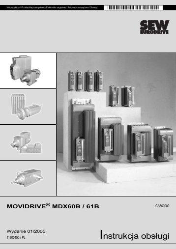 Instrukcja obsługi - SEW Eurodrive