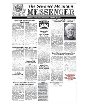 7-15-10-1 - The Sewanee Mountain Messenger