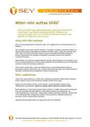 Miten voin auttaa siiliä? - SEY Suomen Eläinsuojeluyhdistysten liitto ry