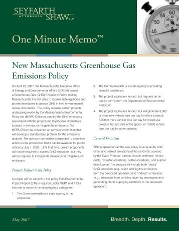 New Massachusetts Greenhouse Gas Emissions Policy.indd