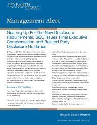 Gearing Up for the New Executive Compensation Disclosure