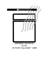 60 Watt Convertible™ Amp - Seymour Duncan