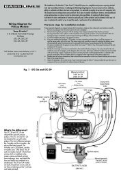Wiring Diagram for Pickup Models: - Seymour Duncan