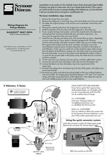 instructions seymour duncan wiring instructions seymour duncan