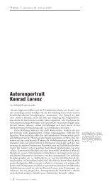 Autorenportrait Konrad Lorenz