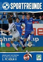 1. FC KÖLN II - Sportfreunde Lotte