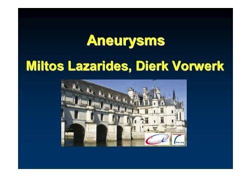 aneurysm - SFAV