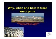43 Lazarides M Why, when and how to treat aneurysms.ppt ... - SFAV