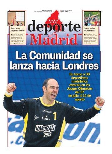 En torno a 30 deportistas madrileños estarán en los ... - Diario As