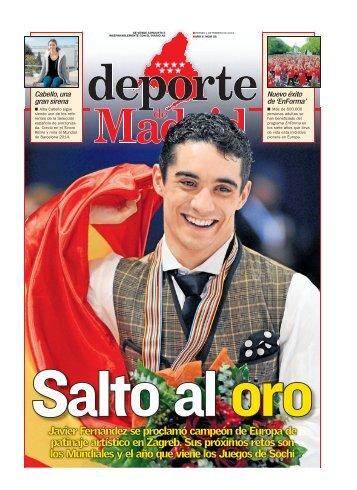 Javier Fernández se proclamó campeón de Europa de ... - Diario As