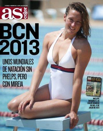Mundiales sin Phelps, pero con Mireia - Diario As