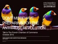 Don't Misbehave - French Chamber of Commerce and Industry in ...