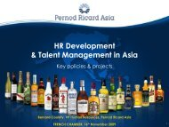 Pernod Ricard Asia - French Chamber of Commerce and Industry in ...