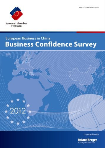 Business confidence survey 2012 - French Chamber of Commerce ...