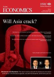 Asian Economics Quarterly-Will Asia crack?