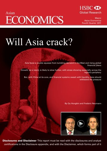 Asian Economics Quarterly-Will Asia crack?