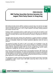 BNP Paribas Securities Services becomes the largest Third-Party ...