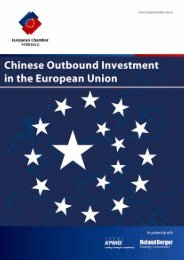 Chinese Outbound Investment in the European Union - French ...