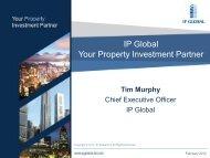 IP Global Property Update
