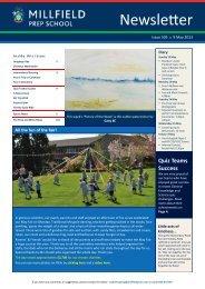 9 May - Millfield Prep School