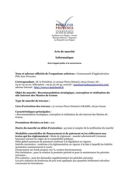 Recommandation Stratãgique Conception Et Rãalisation Du Site
