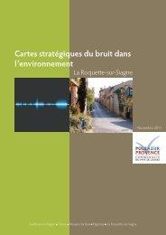 Cartes stratégiques du bruit Roquette-sur-Siagne - Pôle Azur ...