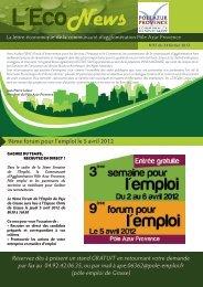 9ème forum pour l'emploi le 5 avril 2012 Réservez dès à présent un ...
