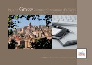 Brochure Tourisme d'Affaires - Office de tourisme de Grasse